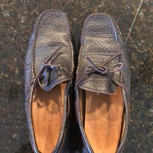 Men's Tods Leather driving loafers